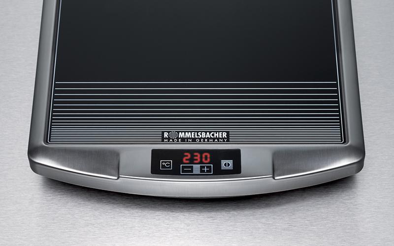 Technik zu hause praxistest rommelsbacher ceran grill cg2308 for Ceran grill
