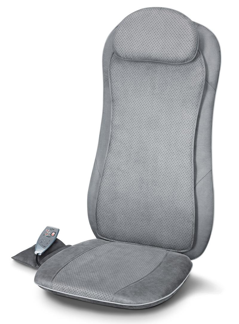 technik zu hause testbericht beurer shiatsu massage auflage. Black Bedroom Furniture Sets. Home Design Ideas