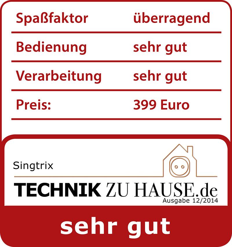 Technik zu Hause Praxistest Singtrix Karaoke Set
