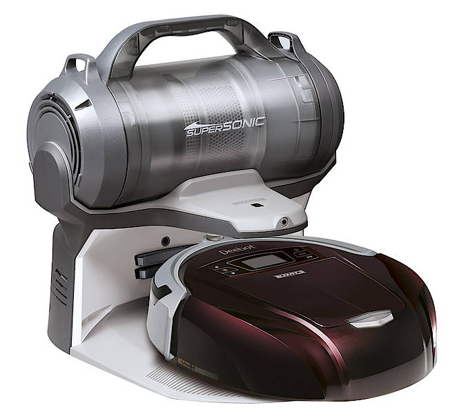 technik zu hause praxistest ecovacs deebot d 76 roboter staubsauber. Black Bedroom Furniture Sets. Home Design Ideas