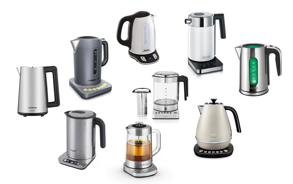 Technik zu Hause: 9 Wasserkocher mit Temperaturwahl im Praxistest