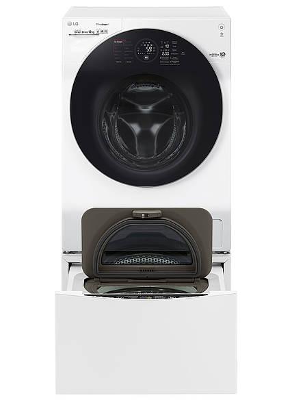 technik zu hause praxistest waschmaschine lg twinwash. Black Bedroom Furniture Sets. Home Design Ideas