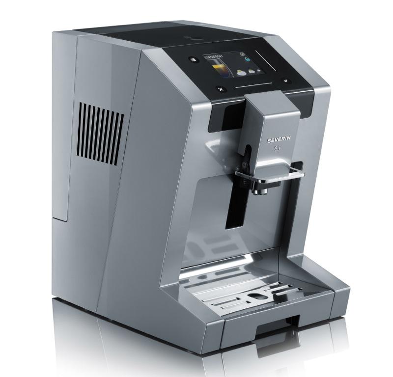 technik zu hause severin s3 one touch sensoslide kaffeevollautomat mit intuitiver bedienung. Black Bedroom Furniture Sets. Home Design Ideas