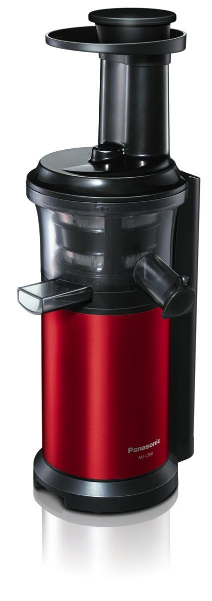 Rezepte Fur Panasonic Slow Juicer : Technik zu Hause: Panasonic mit neuen Kuchenmaschinen, Dampfmikrowelle, Slow Juicer