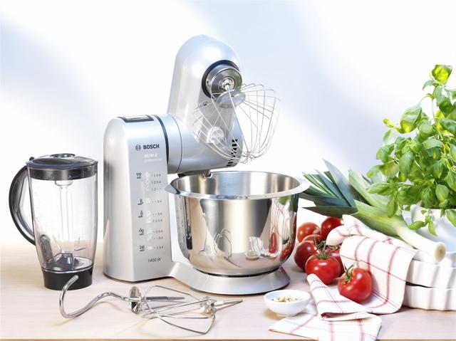 Technik zu Hause: Bosch MUM 8: Die stärkste Küchenmaschine ...