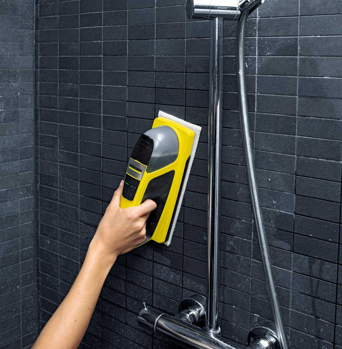 Technik Zu Hause Jetzt Noch Mehr Einfach Sauber Karcher Akku Wischer Kv 4 Mit Neuen Tuchern