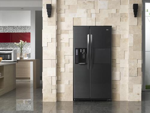 Technik zu Hause: LG Hausgeräte: Schicker Kühlschrank