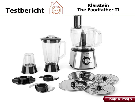 Praxistest: Klarstein The Foodfather II Küchenmaschine
