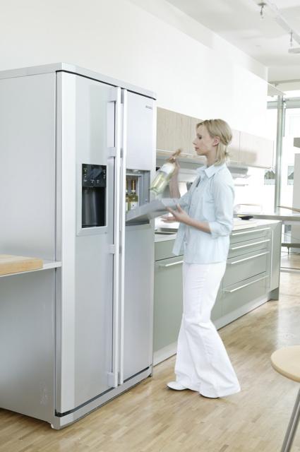 Technik zu Hause: Samsung RS-E8KPPS: Side-by-Side Kühlschrank mit ...