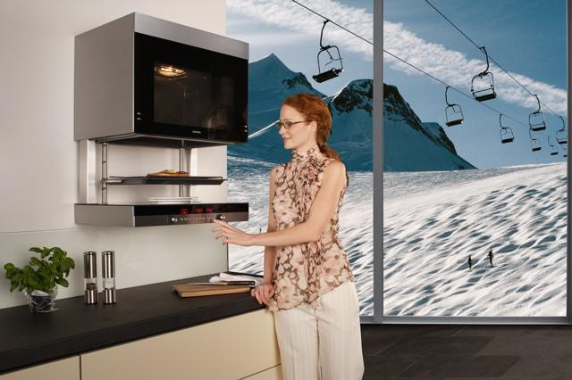 technik zu hause siemens liftmatic hb 76p570 der backofen mit fahrstuhl. Black Bedroom Furniture Sets. Home Design Ideas