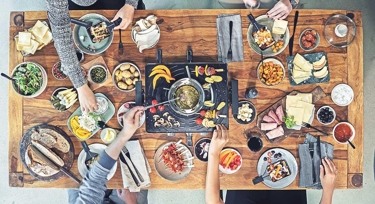 Bildergebnis für raclette cartoon