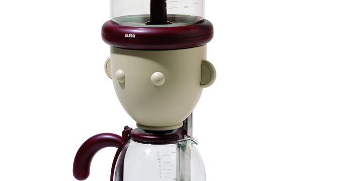 designer kaffeemaschine technik zu hause alessi geo das. Black Bedroom Furniture Sets. Home Design Ideas
