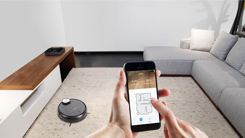 technik zu hause ecovacs serviceoffensive f r bodenreinigungsroboter. Black Bedroom Furniture Sets. Home Design Ideas