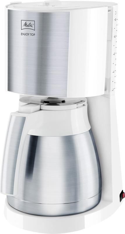 technik zu hause melitta filterkaffeemaschinen easytop und enjoy jetzt mit edelstahl. Black Bedroom Furniture Sets. Home Design Ideas