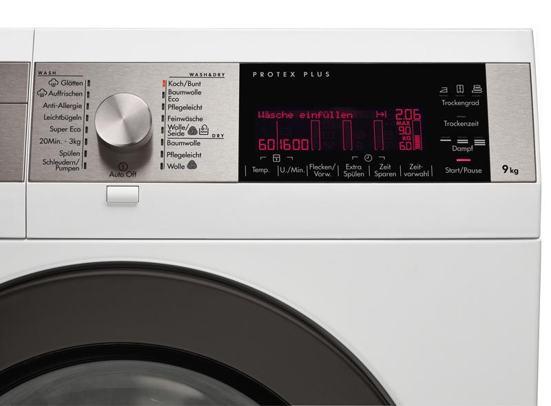 Technik zu hause: aeg: erster waschtrockner mit wärmepumpe