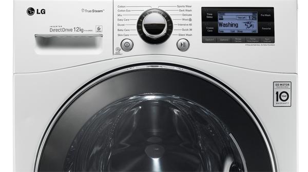 Bis Zu Zwlf Kilogramm Fassungsvermgen Hat Die Neue Lg Waschmaschine F1495bd Bei Standard Auenmaen Damit Ist