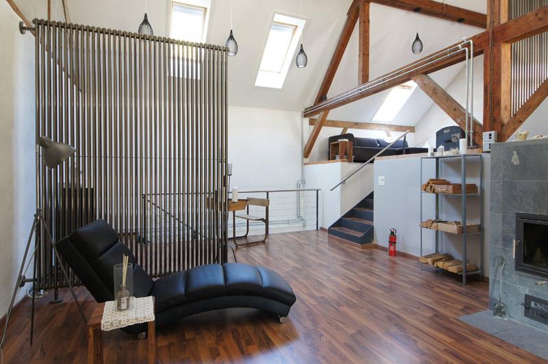 technik zu hause servicethema heizung als raumteiler. Black Bedroom Furniture Sets. Home Design Ideas