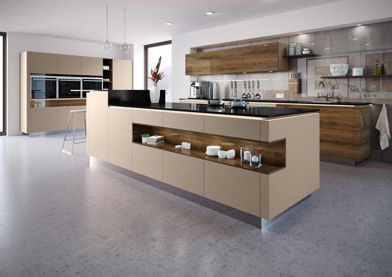 technik zu hause rehau kantenl sung f r die k che. Black Bedroom Furniture Sets. Home Design Ideas