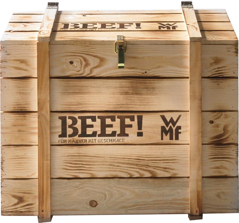 technik zu hause wmf profi plus beef special edition f r m nner. Black Bedroom Furniture Sets. Home Design Ideas