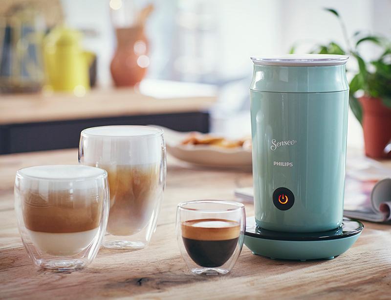 technik zu hause senseo milk twister schaumschl ger in bonbonfarben. Black Bedroom Furniture Sets. Home Design Ideas